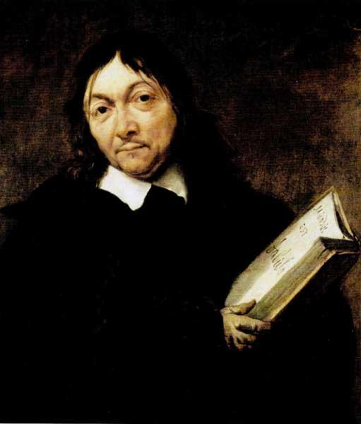 Jan Weenix, Portrait of Descartes (Mundus est fabula)
