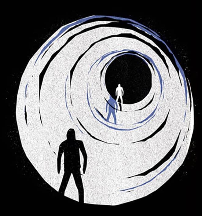 Dettaglio dalla locandina del film 'Stalker' (1979)